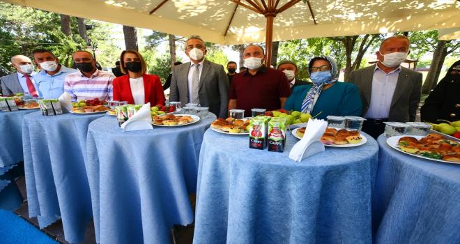 Nevşehir'de bayramlaşma programı düzenlendi
