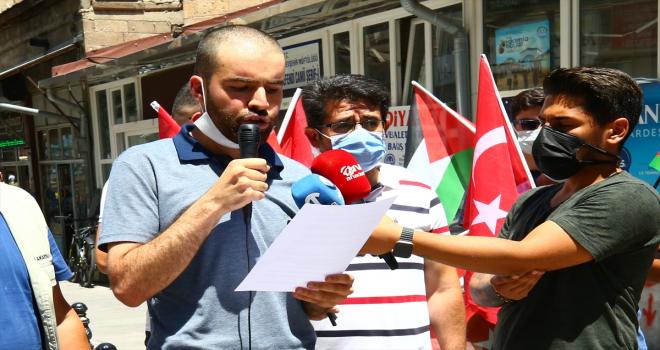 Nevşehir'de Mescid-i Aksa'ya yapılan baskına tepki