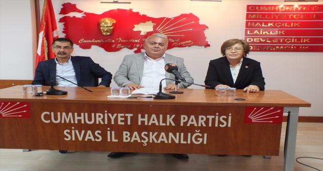 Niğde ve Sivas CHP İl Başkanları, ekonomik gelişmeleri değerlendirdi