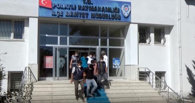 Polatlı'da dolandırıcı operasyonunda 4 kişi tutuklandı