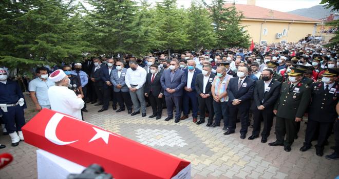 Şehit Piyade Astsubay Cihan Çifcibaşı, Nevşehir'de son yolculuğuna uğurlandı
