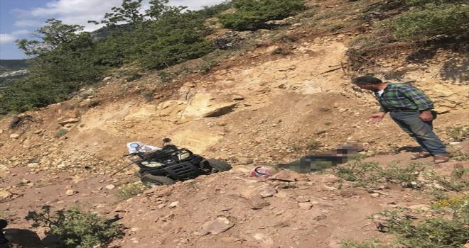 Sivas'ta ATV uçuruma devrildi: 1 ölü, 1 yaralı