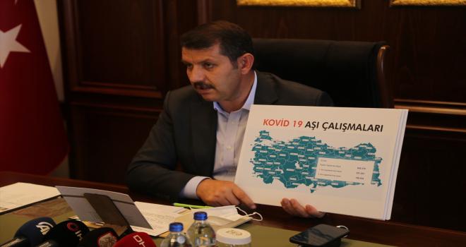 Sivas'ta Kovid-19'a karşı aşılama yüzde 61,7'ye ulaştı