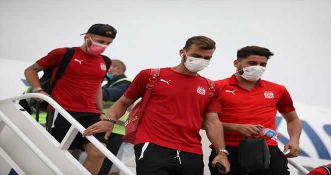 Sivasspor, Kişinev'e ulaştı