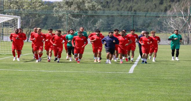 Sivasspor, yeni sezon hazırlıklarına Bolu'da devam etti