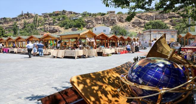 Talas Antika Pazarı 16 ay sonra açıldı