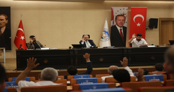 Talas Belediyesi Meclis Toplantısı yapıldı
