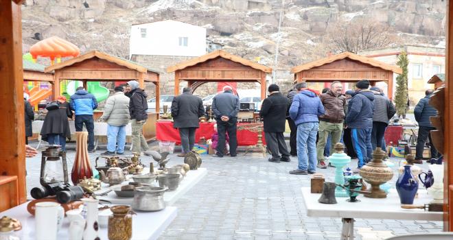 Talas'ta antika pazarı yarın açılacak