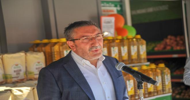 Tarım Kredi Kooperatif Market'in 355'inci şubesi Antalya'da açıldı