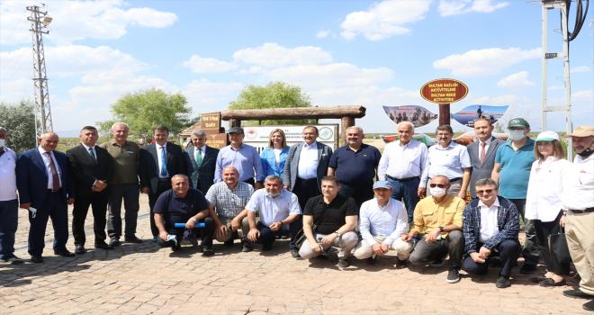 TBMM Küresel İklim Değişikliği Araştırma Komisyonu, Sultan Sazlığı'nda inceleme yaptı