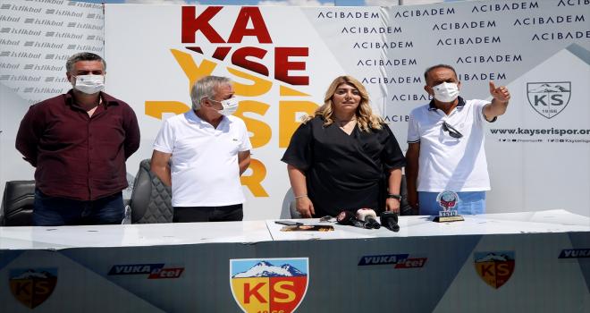 TSYD Kayseri Şubesi'nden Kayserispor Başkanı Gözbaşı'na ziyaret