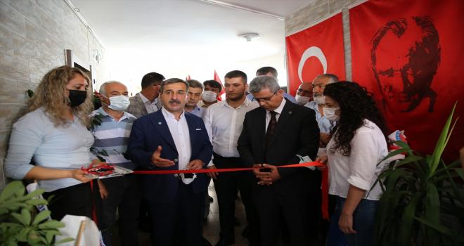 Türkiye Kamu-Sen Genel Başkanı Kahveci, Türk Sağlık-Sen Antalya Şubesi'nin açılışına katıldı: