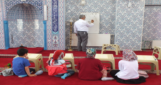 Ulaş'ta yaz Kur'an kurslarına 300 öğrenci katılıyor