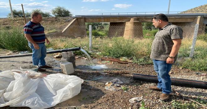 Yerköy Belediyesi içme suyu çalışmalarında iki kuyudan yüksek basınçlı su buldu