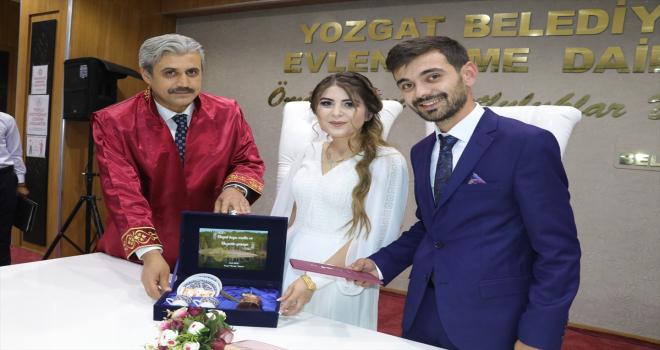 Yozgat'ta normalleşme döneminin başlamasıyla nikah ve düğünlerde yoğunluk arttı