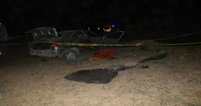 Yozgat'ta otomobil şarampole devrildi: 1 ölü, 2 yaralı
