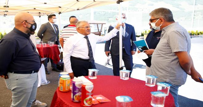 Erciyes Yüksek İrtifa Kamp Merkezi ulusal basın temsilcilerine tanıtıldı