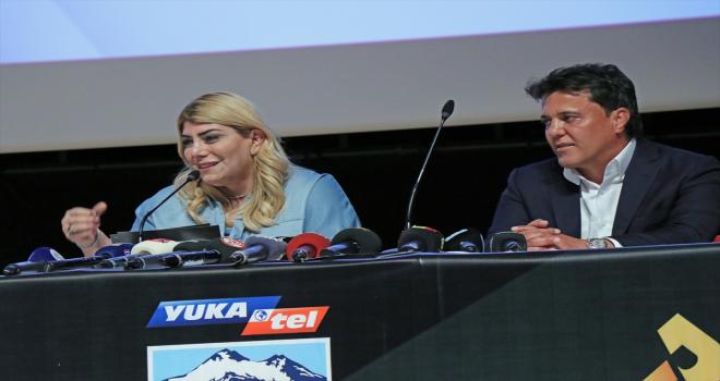 Kayserispor ile Yukatel firması arasında isim sponsorluğu anlaşması imzalandı