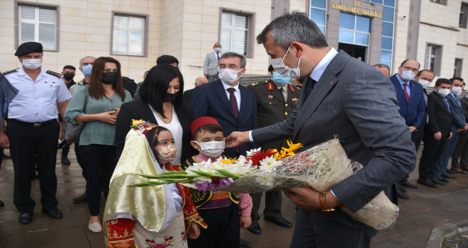 AFAD Başkanlığına atanan Kırıkkale Valisi Yunus Sezer için veda töreni
