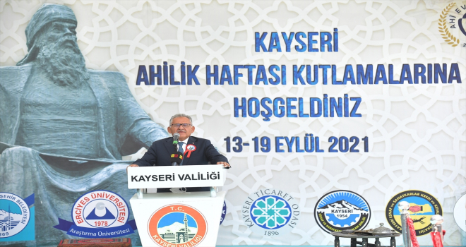 Ahilik Haftası, Kayseri'de kutlandı