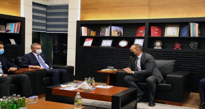 AK Parti Genel Başkan Yardımcısı Kandemir, Niğde Belediyesini ziyaret etti