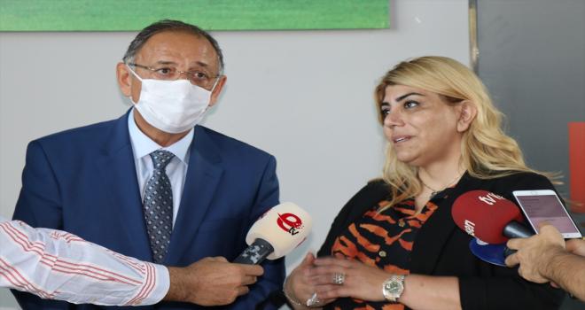 AK Parti Genel Başkan Yardımcısı Özhaseki, Yukatel Kayserispor'u ziyaret etti