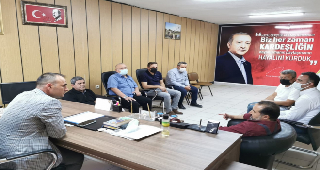 AK Parti Konya Milletvekili Hacı Ahmet Özdemir, Beyşehir'i ziyaret etti