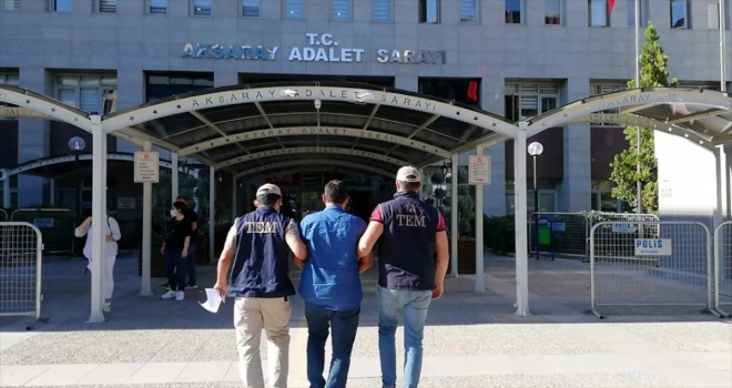 Aksaray'da hakkında kesinleşmiş hapis cezası bulunan FETÖ hükümlüsü yakalandı