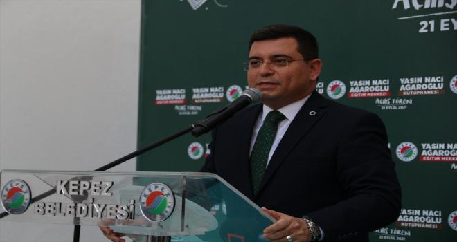 Antalya'da, 15 Temmuz şehidi Yasin Naci Ağaroğlu'nun adı verilen eğitim merkezi açıldı