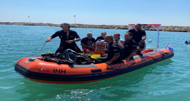 Antalya'da su altı arama kurtarma eğitimi düzenlendi