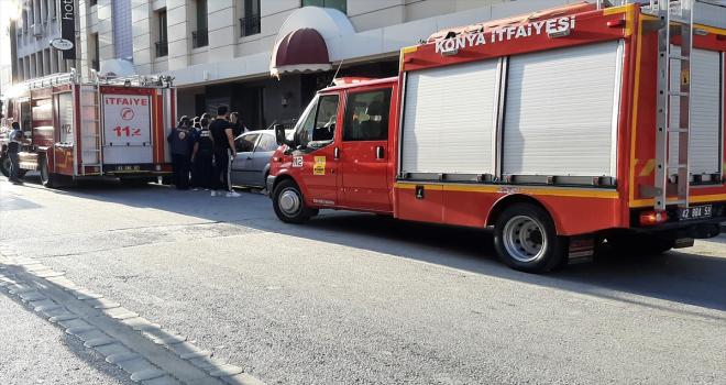 Asansörde çalışan işçiler elektrik akımına kapıldı! 2 ölü