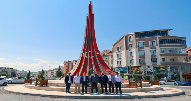 Azerbaycanlı heyet Nevşehir Belediyesini ziyaret etti