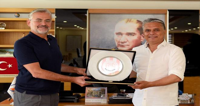 Başkan Uysal'dan amatör spor branşlarına destek