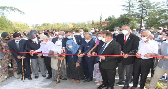 Beyşehir'de Şehitler ve Gaziler Parkı açıldı