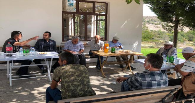 CHP Beypazarı İlçe Teşkilatı mahalle ziyaretlerini sürdürüyor