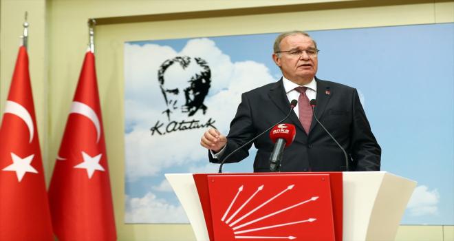 CHP Sözcüsü Öztrak, MYK toplantısına ilişkin açıklama yaptı: