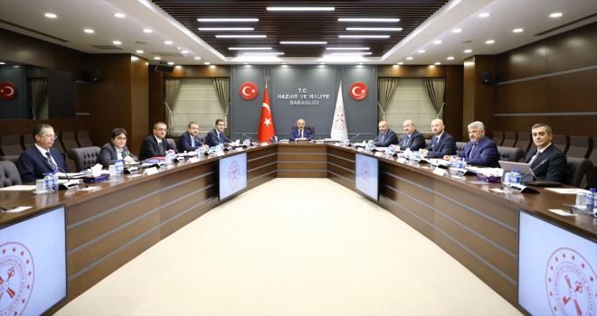Finansal İstikrar Komitesi, Bakan Elvan Başkanlığında toplandı