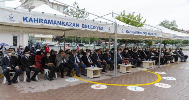 Kahramankazan'da İlköğretim Haftası kutlandı