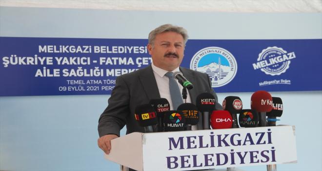 Kayseri'de aile sağlık merkezinin temeli atıldı