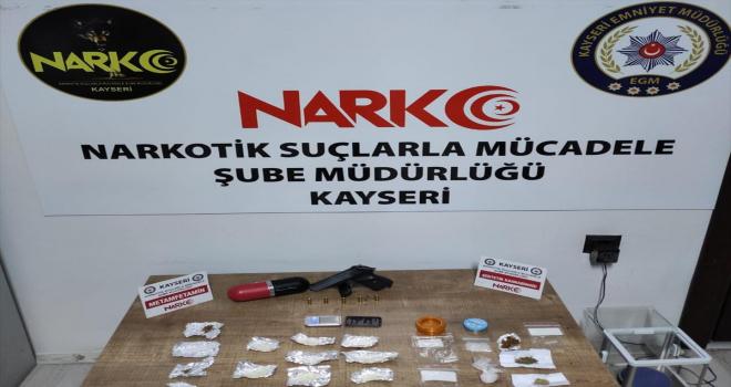 Kayseri'de uyuşturucu operasyonunda 2 şüpheli yakalandı