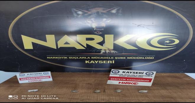 Kayseri'deki uyuşturucu operasyonunda 1 kişi gözaltına alındı