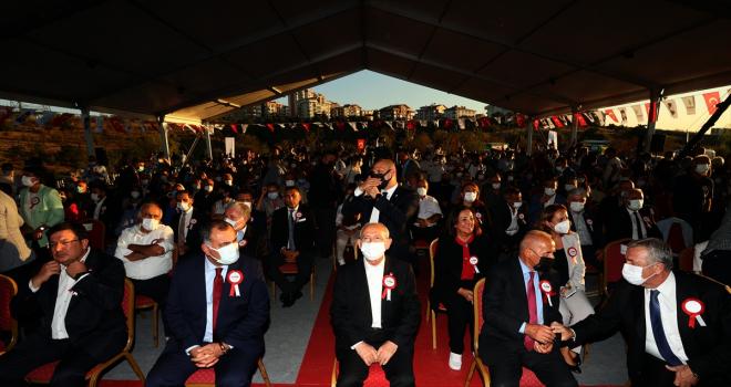 Kılıçdaroğlu, Çankaya Belediyesi Bademlidere Kent Ormanı ağaç dikim töreninde konuştu: