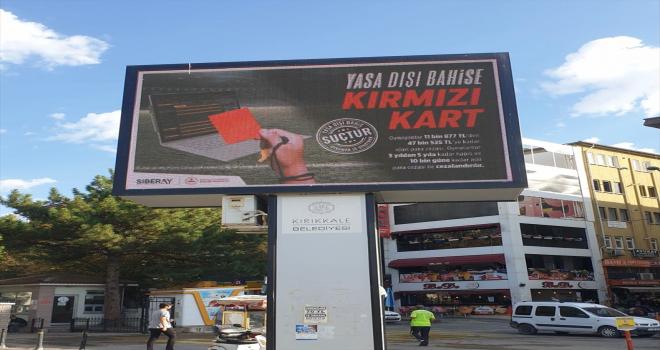 Kırıkkale'de yasadışı bahisle mücadele