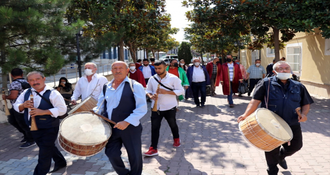 Kırşehir'de 34. Ahilik Haftası kutlamalarına davul zurnalı davet