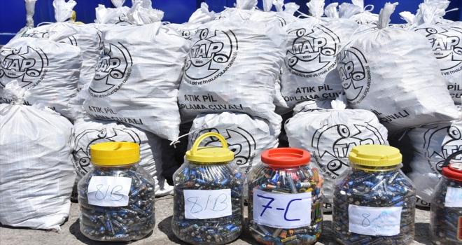Kocasinan'da 8 ayda yaklaşık 8 ton elektronik atık ekonomiye kazandırıldı