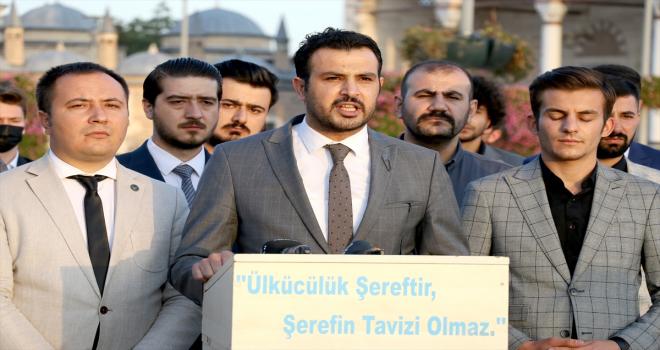 Konya Ülkü Ocakları Başkanı Yusuf Kasım Akta'dan