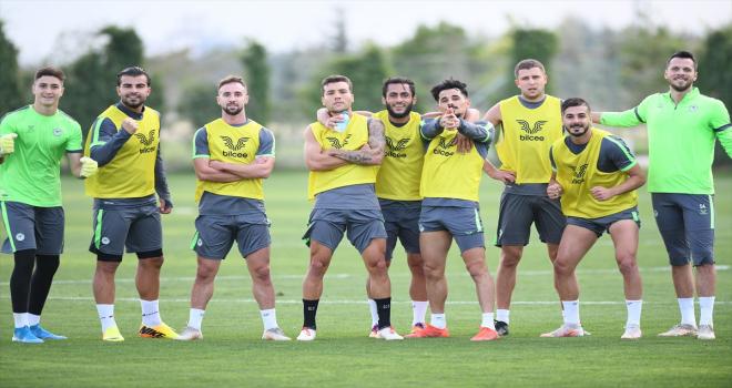 Konyaspor'da Giresunspor maçı hazırlıkları