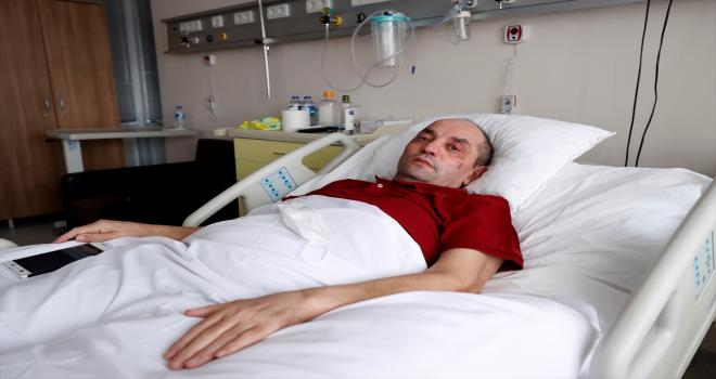 Kovid-19 nedeniyle 110 gün yoğun bakımda kalan hasta, yaşadıklarını gözyaşları içinde anlattı