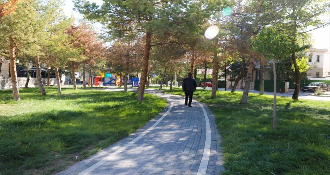 Meram'da park alanları yeniden düzenleniyor