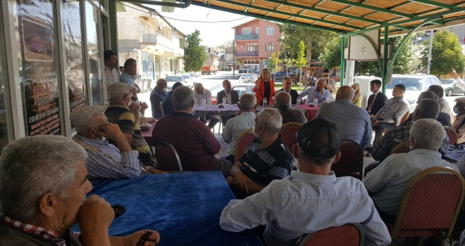 MHP Konya Milletvekili Esin Kara, Yalıhüyük'ü ziyaret etti